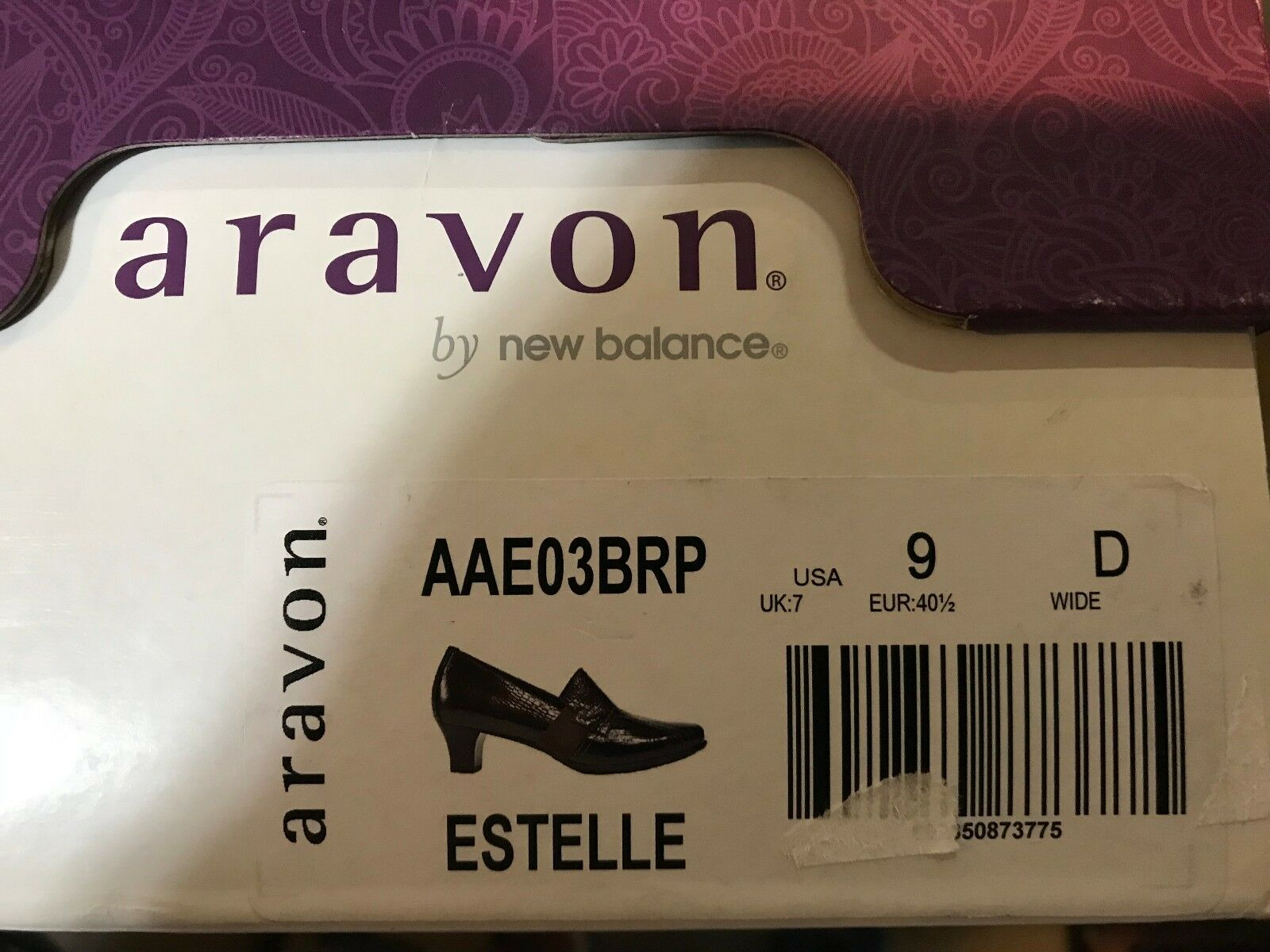 ARAVON, ESTELLE, Damenschuhe, BROWN LIZARD, LIZARD, LIZARD, US Größe 9 D WIDE NEW/DISPLAY aadc4e