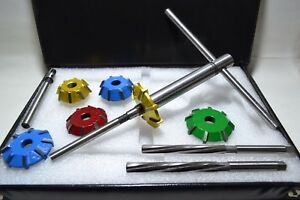 Details about VALVE SEAT CUTTER KIT CARBIDE 3 ANGLE CUT  DATSUN,NISSAN,TOYOTA JAPANESE ENGINES