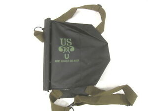 Picnic Bags Ww2 Wwii Us Army Normandy D-day M5 M7 Gas Mask Bag Pack Carrier Repro Black Back To Search Resultssports & Entertainment