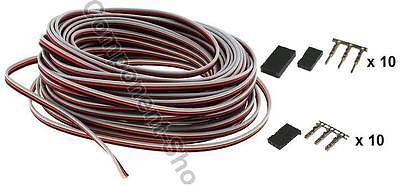 5m JR light weight servo wire 26awg UK seller