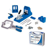 Kreg K4ms Jig Master System With Sk03 675 Screws Pocket Hole Screw Joinery Kit on sale