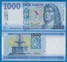 UNC 2018 Hungria Hungary 1000 1,000 Forint 2017 P-New