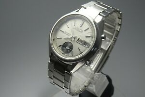 Vintage-1972-JAPAN-SEIKO-CHRONOGRAPH-7018-7000-23Jewels-Automatic