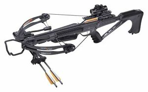 New CenterPoint AXCV130BK Volt 300 Crossbow Package Super Easy to Cock!