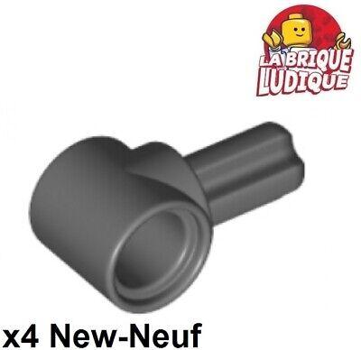 gris Axle /& Pin Connector Hub NEUF NEW 4 x LEGO Technic 22961 Connecteur Axe