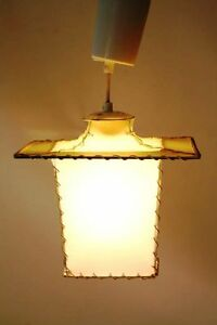 Beautiful-Old-GDR-Hanging-Lamp-Light-Lanterns-Look-Retro-Vintage