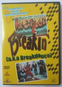 Breakin' 1984 AKA Breakdance Starring Lucinda Dickey 2002 UK Region 2 DVD