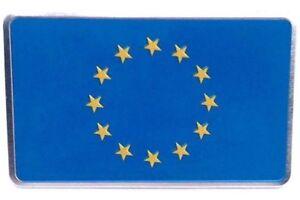 Sticker-Aufkleber-Auf-Kleber-Emblem-Europa-Europe-selbstklebend-3D-Flagge-Auto