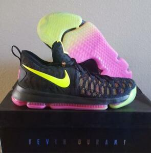 quality design 968f4 d766e Image is loading New-Nike-KD-Zoom-Kevin-Durant-9-Unlimited-