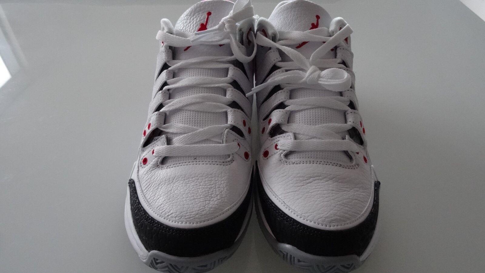42aa8c540fed4e ... New Size 8 Roger Roger Roger Federer Nike Air Jordan Zoom Vapor AJ3 RF  Fire Red ...