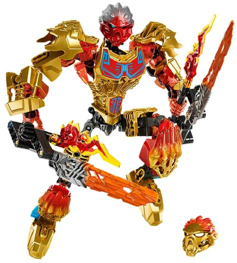NEW//BOXED//SEALED LEGO BIONICLE TAHU UNITER OF FIRE 71308