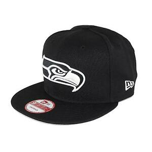 New-Era-950-Seattle-Seahawks-Casquette-Snapback-Bonnet-noir-blanc-92962
