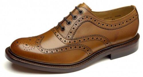 Loake chiaro in stile Scarpe brogue marrone classico 'ashby' pelle fxq16fF