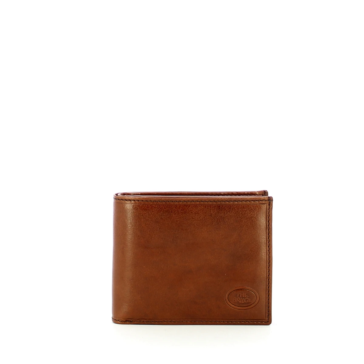 NEW The Bridge - Wallet Story with coin pouch + ID window - 01426601 - MARRONE/T