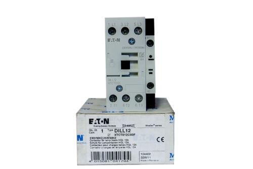 MOELLER EATON DILL12 XTCT012C Schütz für Lampenlasten HQL 12A contactor NEW