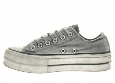 563112c To Win Warm Praise From Customers Scarpa Donna Converse Mod Ct Platform Ox Lift Canvas Art