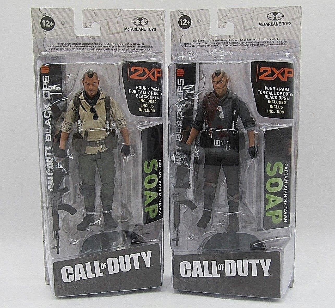 Figura Mcfarlane Call of Duty Jabón Y Jabón Producto Exclusivo Figura