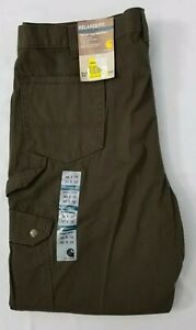 8eb6ee8052 Image is loading Carhartt-B342-Relaxed-Fit-Ripstop-Cargo-Work-Pants-