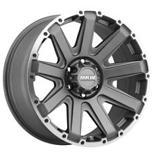 New Listing4 New 20 Inch Mkw Offroad M94 20x9 6x135 10mm Greymachined Wheels Rims