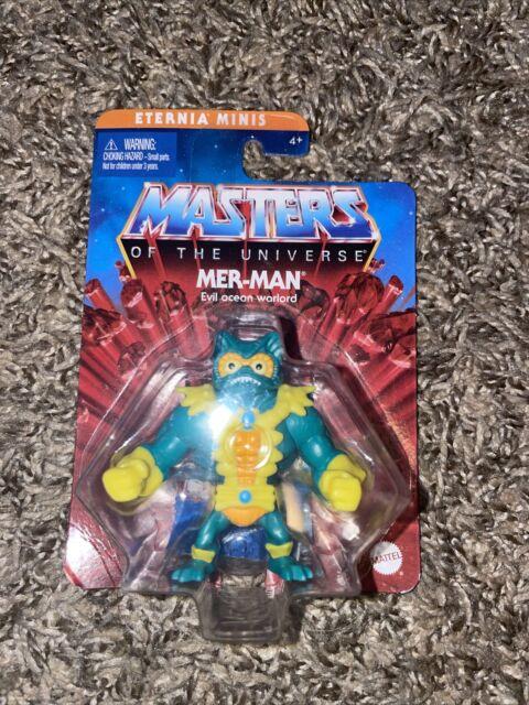 "Mer-man - Master of the Universe 2"" Eternia Minis 2020-2021 MOTU. FREE SHIPPING!"