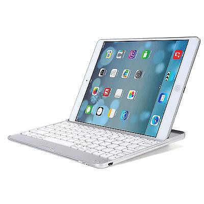 Aluminum Bluetooth Wireless Keyboard Cover Case For iPad 4 2 iPad mini iPad Air