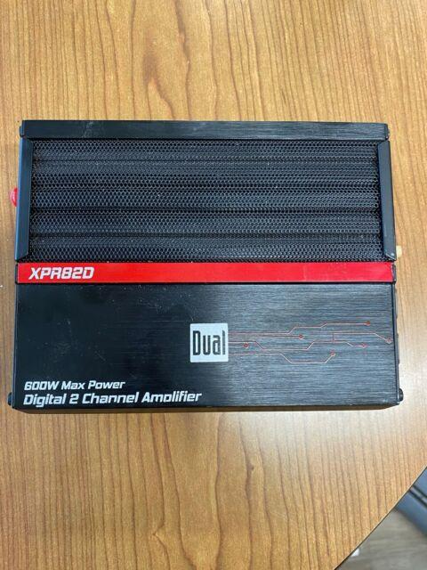 Dual XPR82D 2//1 High Performance Power MOSFET Class D Car Amplifier