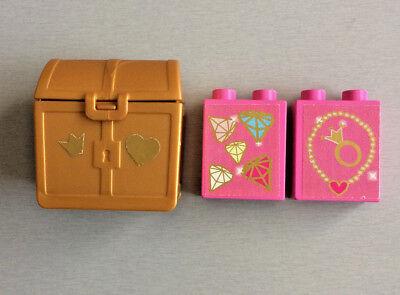 1 x Lego Schatztruhen Truhe perl gold Schatzkiste Set 8078 6241 7078 4738ac01