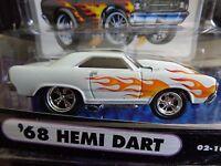 1968 Dodge Hemi Dart Muscle Machines 1/64 In Used Package