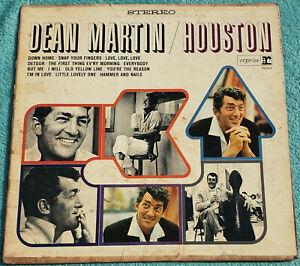 Dean Martin Houston LP 1965 Original Vinyl Album - Hammer And Nails, Down Home