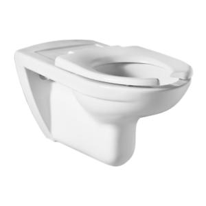 Barrierefreies Tiefspüler-Wand-WC Toilette Keramik Bad ROCA Hänge-WC weiß