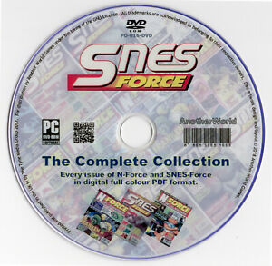 N-FORCE-SNES-FORCE-Magazine-Collection-on-Disk-Nintendo-NES-SNES-Gameboy-Games