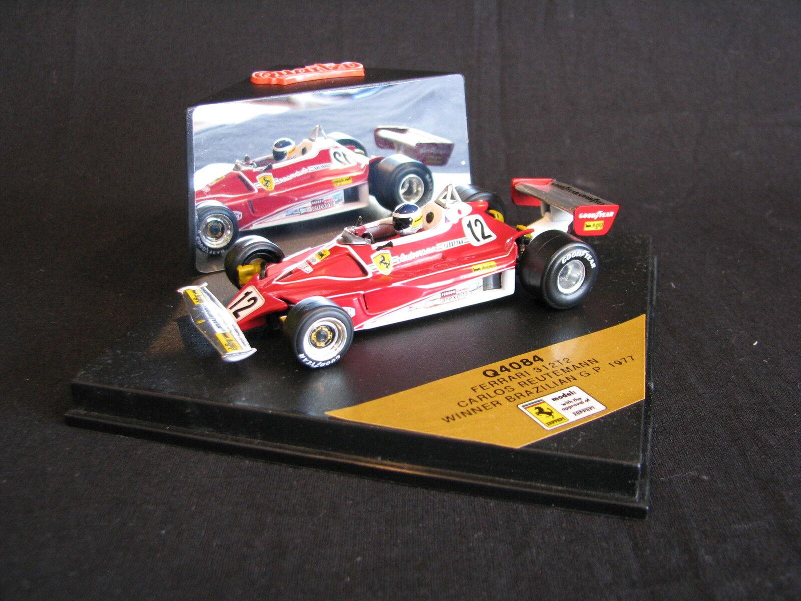 Quartzo Ferrari 312 T2 1977 1 43 Carlos Retemann (ARG) Brazilian GP (LS)
