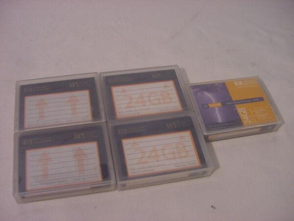 (5) Genuine Hewlett Packard 24gb Dds-3 Data Cartridge Hp Opruimingsprijs