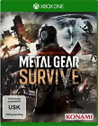 Metal Gear Survive (Microsoft Xbox One, 2018)