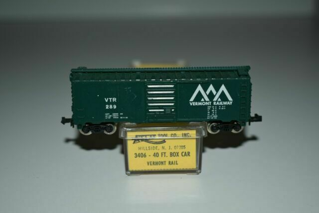 VTR 40ft Box Car Vermont Railway N Scale