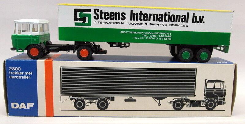 envío rápido en todo el mundo León COCHE 1 50 Escala Escala Escala Camión Caja Nr.59 DAF camión International B.V Modelo Steens  A la venta con descuento del 70%.