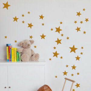 110Pcs-sheet-Mixed-sized-Star-Wall-Stickers-Decals-Baby-Room-Kids-Bedroom-Decor