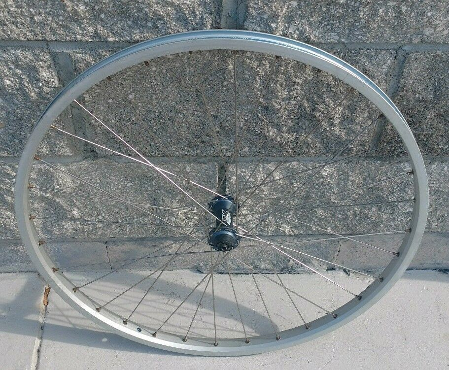 NOS SHIMANO DEORE LX  HUB SUN RHYNU LITE RIM FRONT 26  WHEEL NEW  get the latest