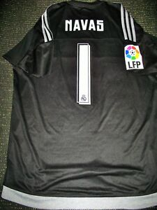 5e4b79949f6 Navas Real Madrid Match Worn Issue Jersey Shirt Camiseta Trikot ...