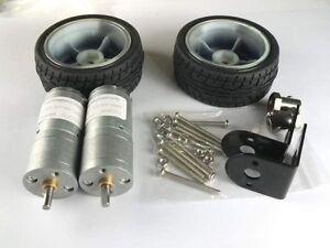 Smart-car-Robot-Self-balancing-Kits-Wheel-12V-Motor-Motor-bracket-Connector