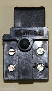 Saegen-Ersatz-Druecker-Form-1-Entsperrknopf-6-6-A-250-Va-Typ-SR-91-Restp-244