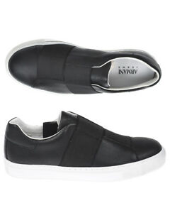 Caricamento dell immagine in corso Scarpe-Sneaker-Armani-Jeans-AJ-Shoes -Uomo-Nero- a7a80d1f5bd