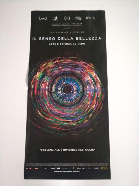 SENSO DELLA BELLEZZA (2017) Locandina Film 33x70 Poster Originale Cinema