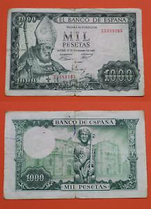 España Billete de 1000 Pesetas 1965 Serie Z,  San Isidoro