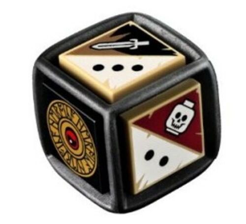 Genuine Lego Heroica Game Replacement Die Dice
