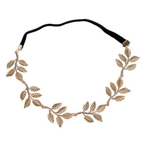 New-Fashion-Gold-Leaf-Festival-Grecian-Garland-Hippy-Forehead-Head-Hair-Band