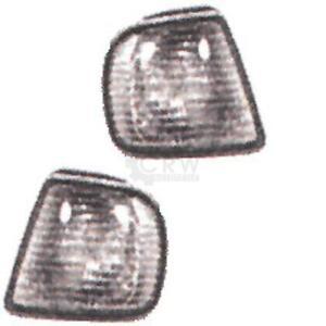 Blinker-Frontblinker-Set-fuer-Seat-Ibiza-Bj-93-96-weiss-fuer-Valeo-Scheinwerfer