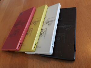 Sony-XPERIA-z5-Compact-32gb-Bianco-Nero-Giallo-Rosa-con-Pellicola-in-Box
