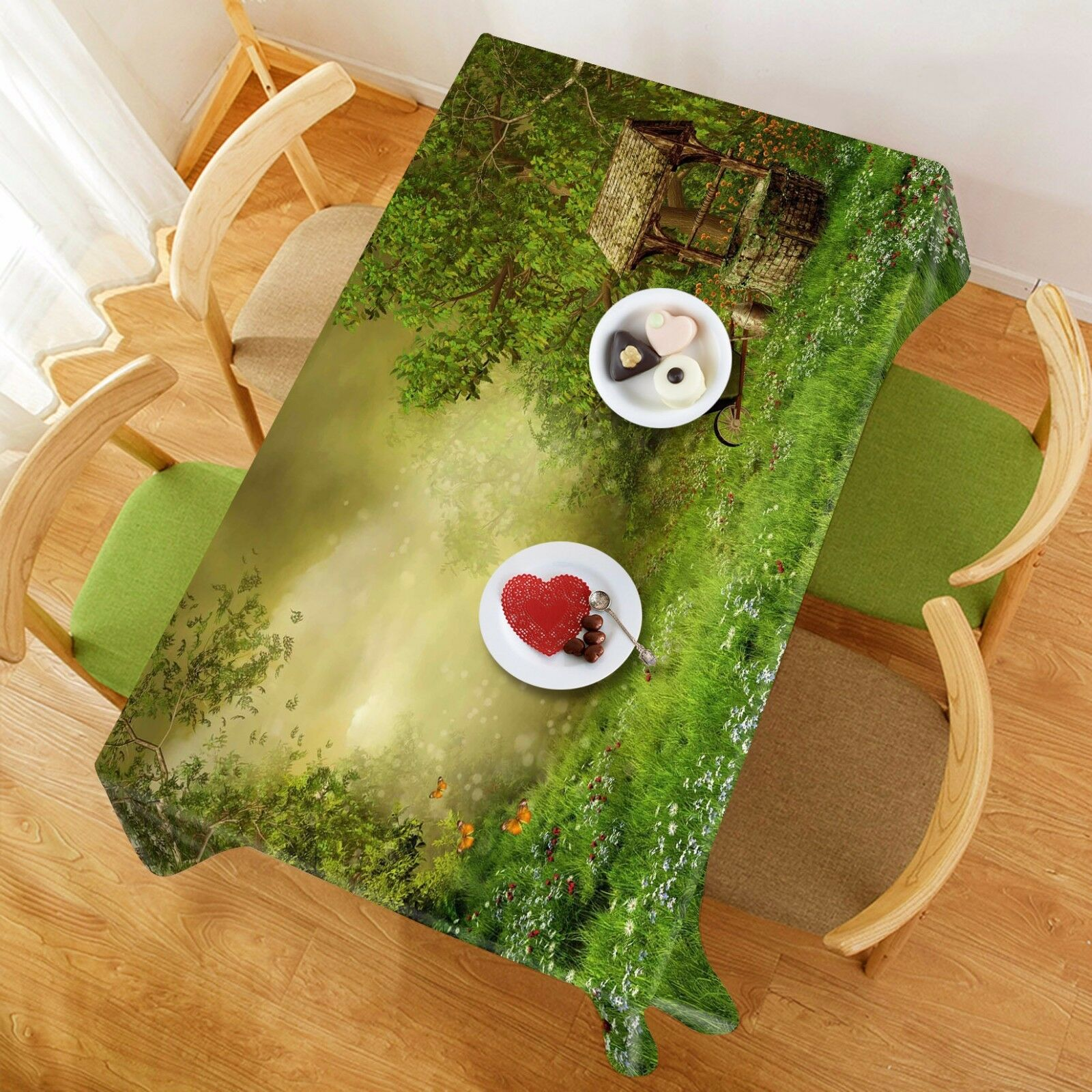 3D boiss 936 Tablecloth Table Cover Cloth Birthday Party Event AJ WALLPAPER AU