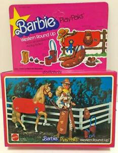 1981-Barbie-Play-Paks-Western-Round-Up-14-Accessories-for-the-big-Rodeo-5018